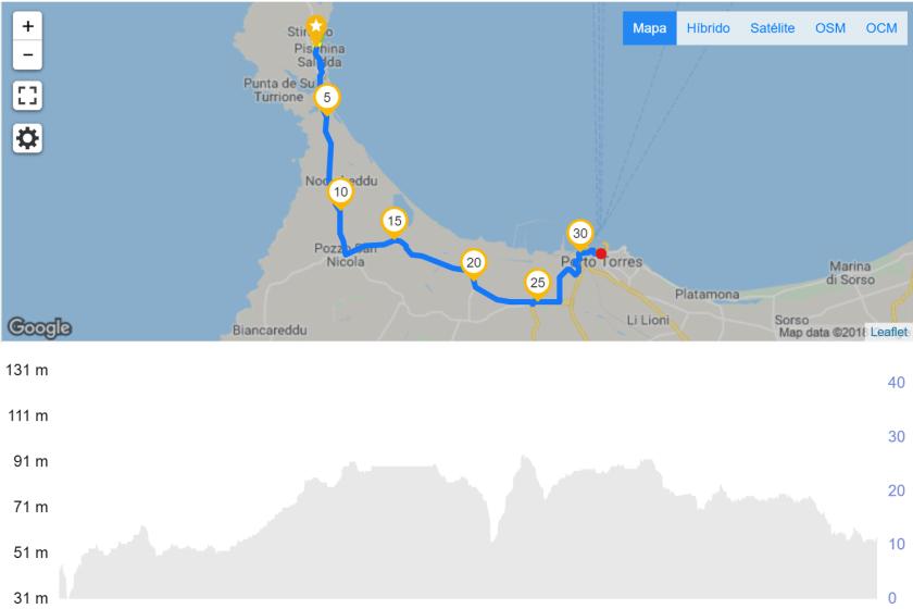 Stintino a Porto Torres