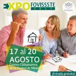 El Fondo de la Vivienda del ISSSTE organiza la EXPO FOVISSSTE 2017