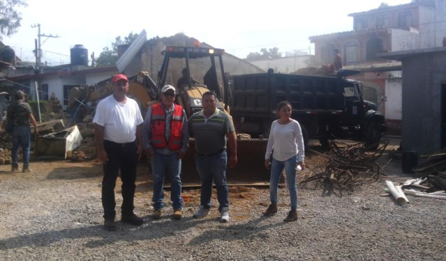 Se manifiesta ayuda para  La Nopalera en Yautepec