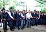 Miles de beneficiados gracias a las obras gestionadas por el senador Rabín Salazar en el municipio de Ocuituco