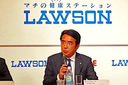ローソン竹増社長/セブンの揚げ物セール歓迎、コンビニ惣菜の認知拡大