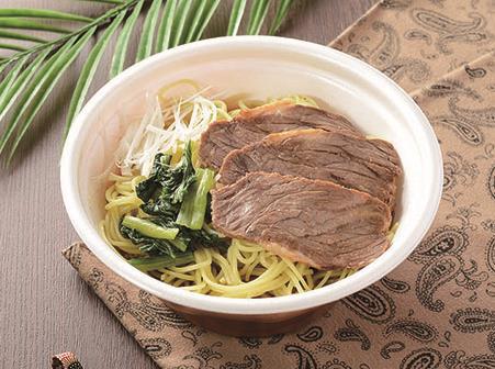 ローソン/牛肉・豚肉・鶏肉入りレンジ麺「肉麺!シリーズ」3品