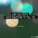 Christmas Playlist: A Long Cold Drive