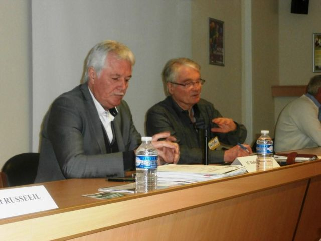 Accueil et introduction aux Assises par Didier Le Reste, Vice-président de la CNR et Pierre Ménard, Président