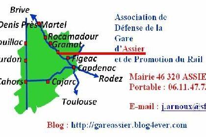 Une interpellation du ministre des transports au sujet du train de nuit Paris-Rodez-Albi
