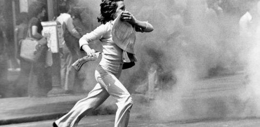 Manifestacion anti-Otan, Madrid fines de junio 1980-(Robert Royal, EFE/AA)