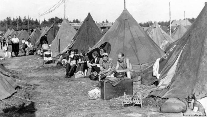 adios europa campo de desplazados alemanes en 1945