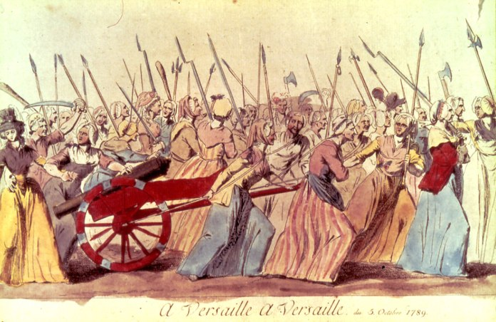 Bengoechea Marche des femmes 5-6 oct 1789