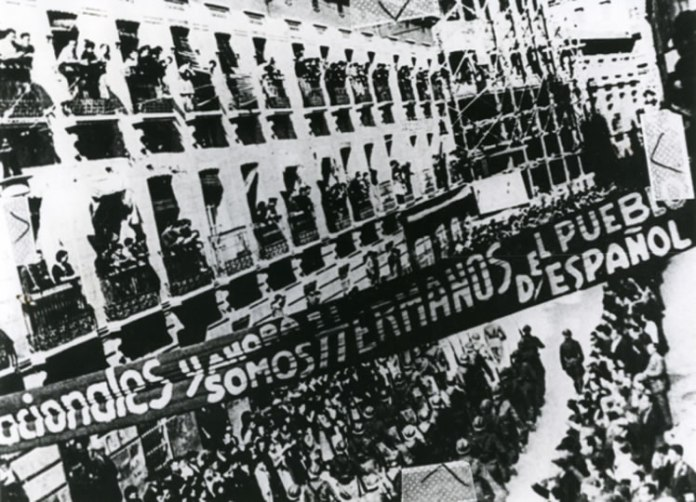 Recibimiento a las BI en Albacete