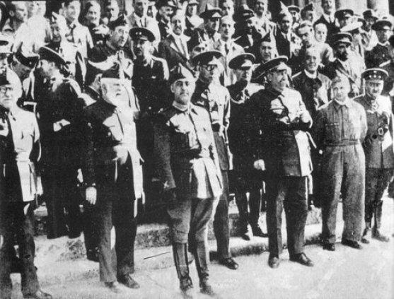 Junta de Defensa Nacional (foto: Fundación Nacional Francisco Franco)