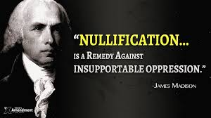 James Madison Nullification Movement Quote