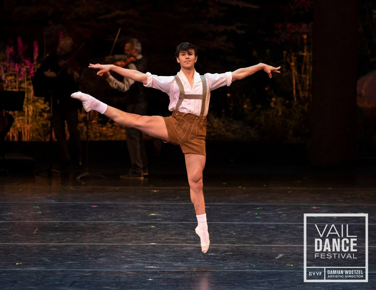 vail dance festival, roman mejia, new york city ballet, tarantella, balanchine, balanchine tarantella, tiler peck, miami city ballet dancers, rebecca king ferraro, michael sean breeden, conversations on dance, dance podcast, ballet podcast, nycb, ballet, ballet dancer, male ballet dancer
