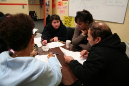 New Labor ESL Class Fall 2013