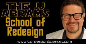 Do a Website Redesign Like JJ Abrams