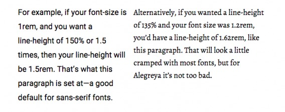 Typography tips for better web design and sales: Fonts
