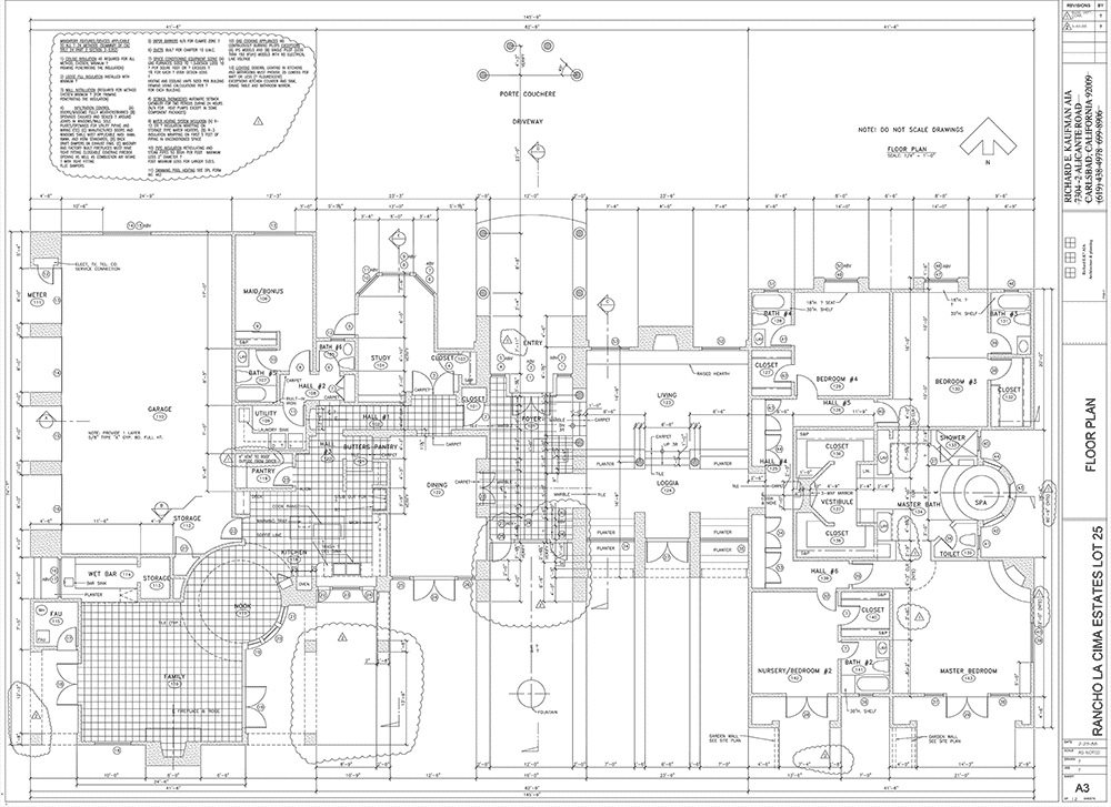 Electrical Plan Cad File
