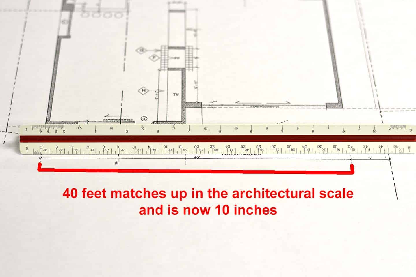 How To Reduce And Enlarge Architectural Plans To Scale Convert To Autocad