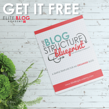 The Blog Structure Blueprint – Learn how to set up a profitable blog