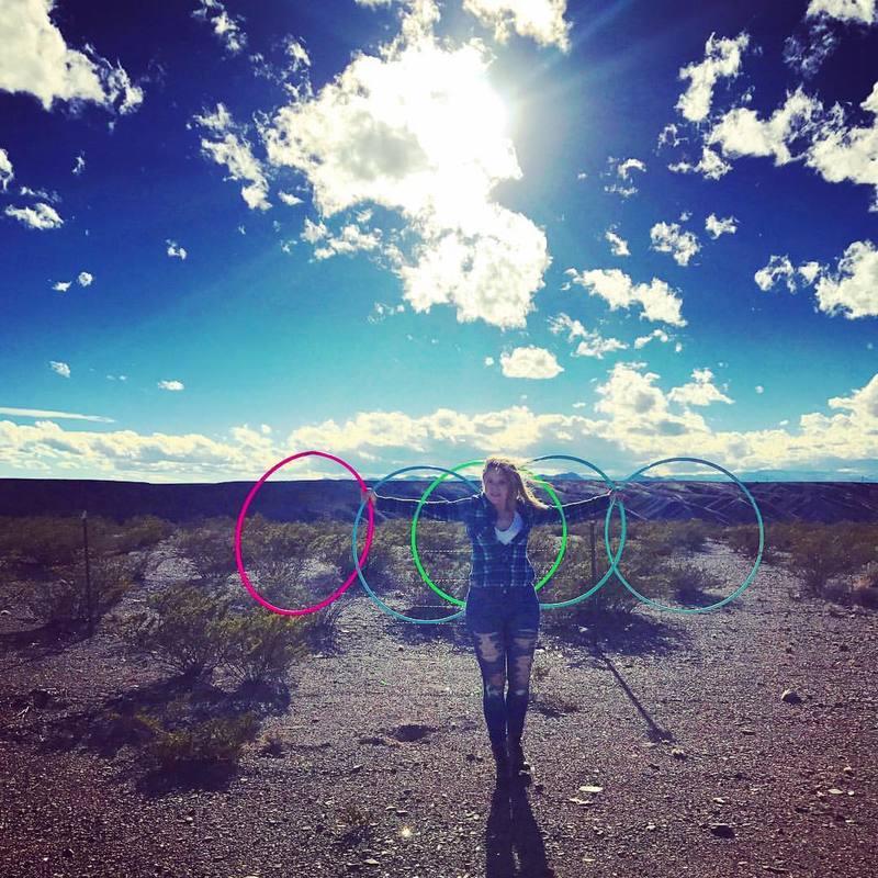 Hoops in the desert