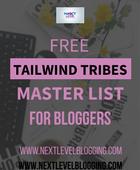 Tailwind Tribes Master List