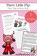 Three Little Pigs Learning Packet