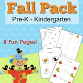 Fall Printables for Preschoolers