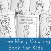 Mary Coloring Book