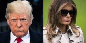 Trumps' anniversary