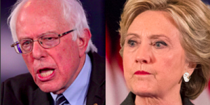 Sanders and Clinton