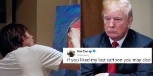 Trump v Carrey