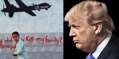 Trump's obsession with murdering innocent civilians