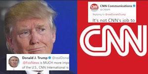 Trump v Cnn