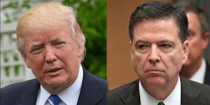 Comey and Trump