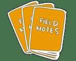 Fieldnotes triple