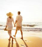 Couple on beach ck
