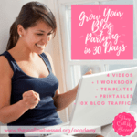 Grow your blog partying in 30 days %287%29