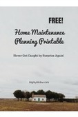 Home maintenance planning printable%281%29