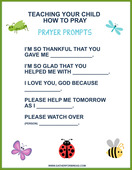 Teaching your child how to pray web
