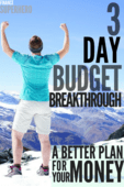 The 3 day budget breakthrough   a better plan for your money %281%29