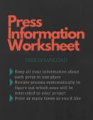 Press information worksheet image