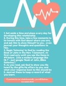 How to begin a friendship with god poster