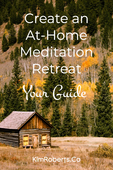 At home meditation retreat guide