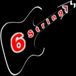 Six string logo   google