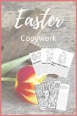 Easter copywork pin