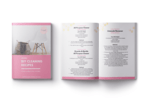 Diy cleaning recipes ebook mockup 2