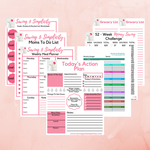 7 free money saving and planning printables for busy moms.