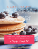 5 breakfasts