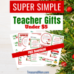 Simple teacher gifts under  5   post