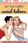 Social taboo avatar