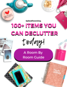 100  items you can declutter today